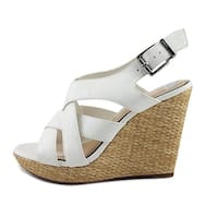 Jessica Simpson Womens Jamallo Open Toe Casual Platform Sandals