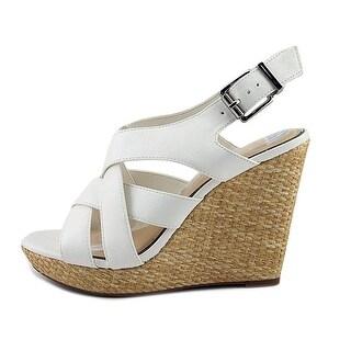 Jessica Simpson Womens Jamallo Open Toe Casual Platform Sandals