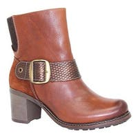 Dromedaris Women's Holly Boot Cognac Leather