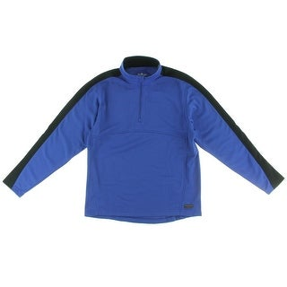 Charles River Apparel Mens 1/4 Zip Pullover Wicking Long Sleeves