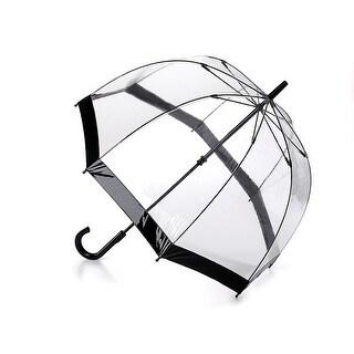 Unisex Adult Her Majesty's Transparent Vinyl Dome Umbrella - One size