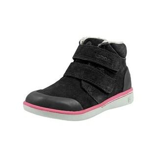 Bogs Casual Shoes Girls Samantha Waterproof Suede Hook & Loop 72188K
