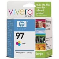 HP HP 97 Tri-color Ink Cartridge 450 Page Cyan  Magenta  Yellow