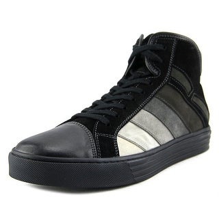 Hogan R206 Nuovo Polacco Degrade Round Toe Leather Sneakers