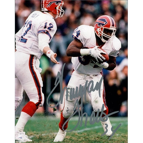 Signed Thomas Thurman Buffalo Bills 8x10 Photo autographed