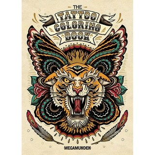 Chronicle Books - The Tattoo Coloring Book - Tattoo Coloring Book