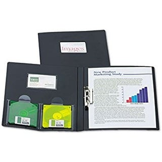Oxford Polypropylene Report Cover tang Letter Size, 0.5-Inch Capacity,