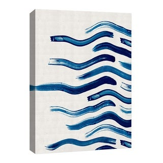 """PTM Images 9-126653  PTM Canvas Collection 8"""" x 10"""" - """"Fading Waves"""" Giclee Abstract Art Print on Canvas"""