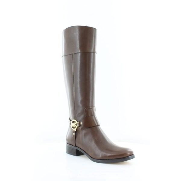 Michael Kors Fulton Harness Women's Boots Mocha - 9