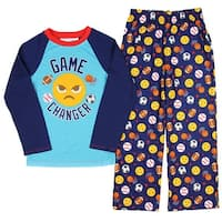 JoyPixels  Game Changer Sports Emojis Youth 2 Piece Pajama Set
