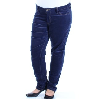Womens Blue Leggings Size 8