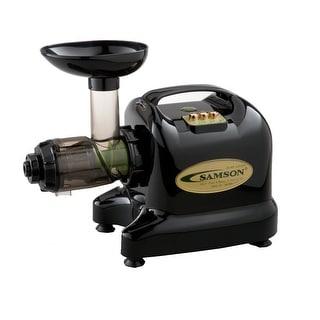 Samson GB9002 6-1 Single Gear Black Juice Extractor