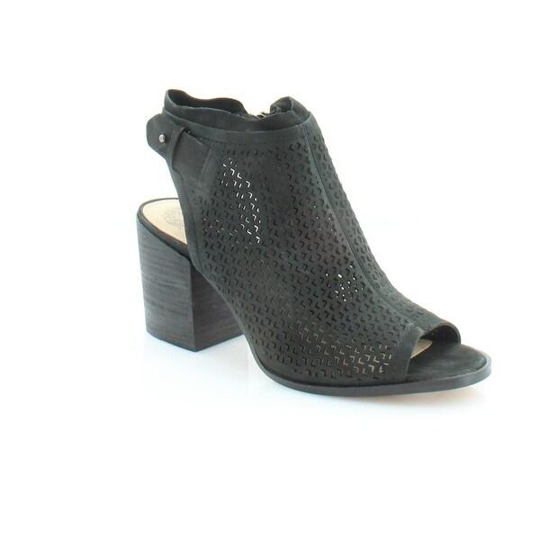 3088c87b7c4 Shop Vince Camuto Lidie Women's Heels Black Tumbled - 6.5 - Free ...