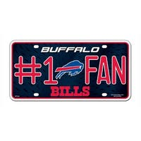Buffalo Bills License Plate - #1 Fan