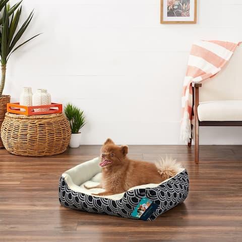 Monaco Rectangular Plush Pet Bed - 20x17