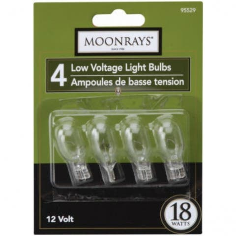 Moonrays 95529 Wedge Base T-5 Bulb, 18 Watt, Clear