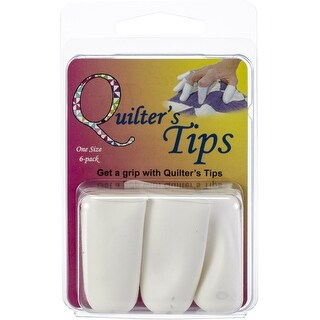 Noble Notions Quilters Tips 6/Pkg-White
