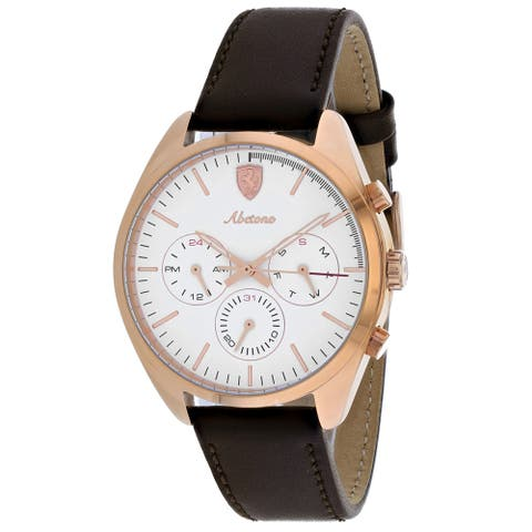 Ferrari Men's Scuderia White Dial Watch - 830504 - One Size
