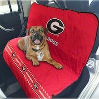 Pets First Collegiate Georgia Bulldogs Pet Car Seat Cover