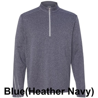 adidas - Golf Brushed Terry Heather Quarter-Zip Jacket (Option: L)
