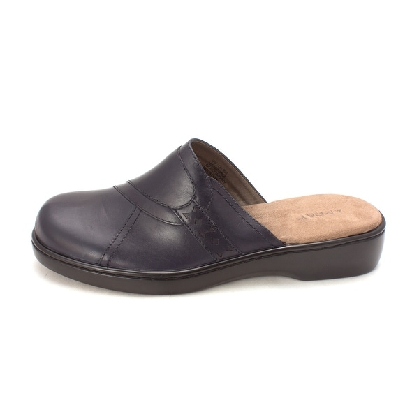 ARRAY Womens Chorus Leather Closed Toe Casual Slide Sandals