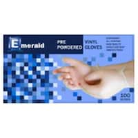 Shannon Powdered Vinyl Disposable Gloves - Medium, Case of 1000