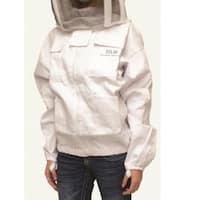 Harvest Lane Honey CLOTHSJM-102 Honey Beekeeping Jacket, Medium, White