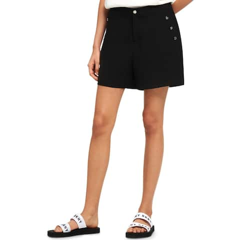 DKNY Womens Shorts Flat Front Dressy