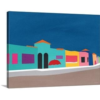 """Capitola Beach"" Canvas Wall Art"