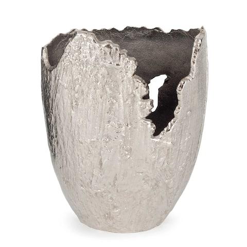 Terra Vase Small, Nickel