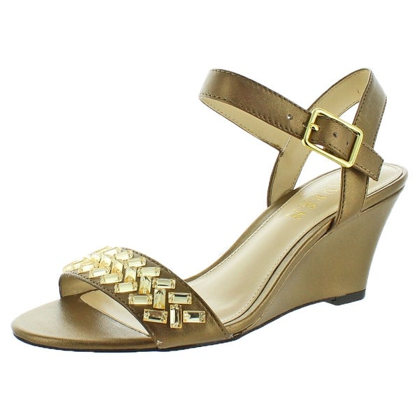 Lauren Ralph Lauren Hessa Women's Wedge Dress Sandals