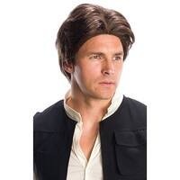 Star Wars Han Solo Adult Costume Wig - Multi