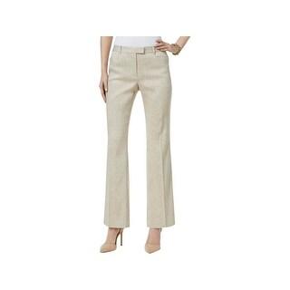 Tommy Hilfiger Womens Dress Pants Linen Classic Fit