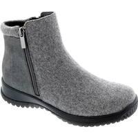 Drew Women's Kool Ankle Boot Grey Suede/Flannel