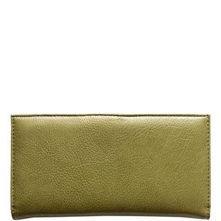 """Link to 7.25"""" Army Green Rectangular Vegan Leather Wallet Similar Items in Gloves"""