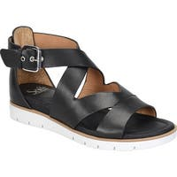 Sofft Womens Mirabelle Leather Open Toe Casual Strappy Sandals
