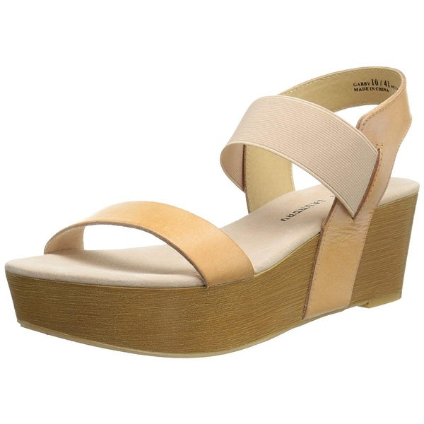 Chinese Laundry Women's Gabby Leather Wedge Sandal - 9