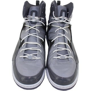 Brooklyn Nets 20132014 Game Used Jordans Light and Dark Grey Size 16