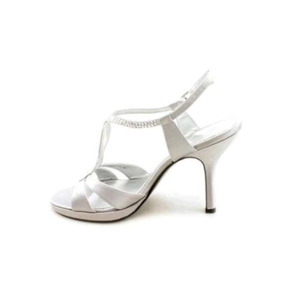 Nina Womens Graysen Open Toe Ankle Strap Classic Pumps