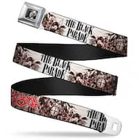 The Black Parade Conductor Face Full Color Black White My Chemical Romance Seatbelt Belt