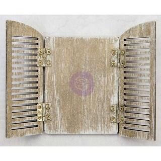 "Parisian Arch Shutters 3""X4.5"" - Prima Frank Garcia Memory Hardware Embellishments"