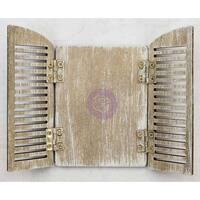 "Prima Frank Garcia Memory Hardware Embellishments-Parisian Arch Shutters 3""X4.5"""