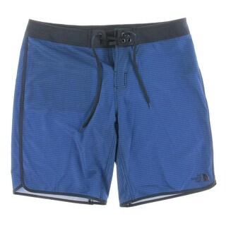 The North Face Mens Board, Surf Shorts Textured Flat Front