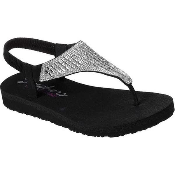 skechers meditation women's thong sandals