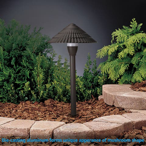 Illud Low Voltage LED Pathway Light, 3000K Warm White, 12 Pack - 3W