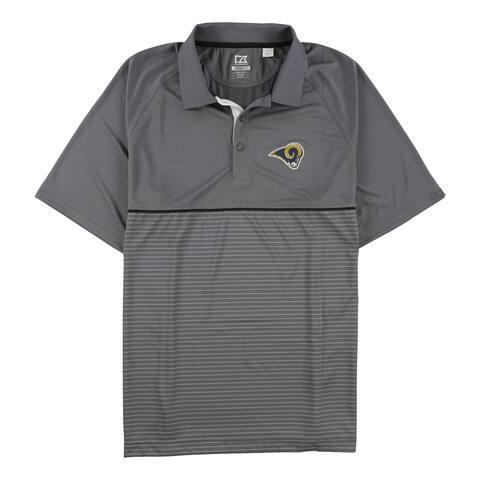 Cutter & Buck Mens La Rams Rugby Polo Shirt