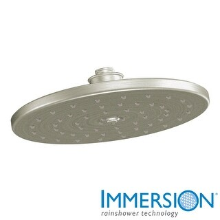 Moen S112  Waterhill 2.5 GPM Single Function Rain Shower Head with Immersion Technologies