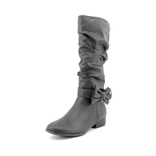 Nina Kids Talia Youth Round Toe Synthetic Mid Calf Boot