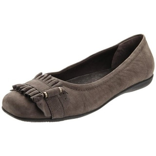 Trotters Womens Sydnei Flats Leather Square Toe - 6 narrow (aa,n)