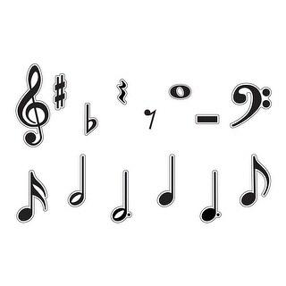 Classic Accents Music Symbols